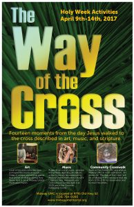 Way Of The Cross Poster